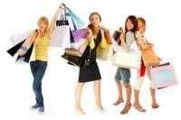 dagje uit met vriendin winkelen