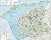 friesland-kaart