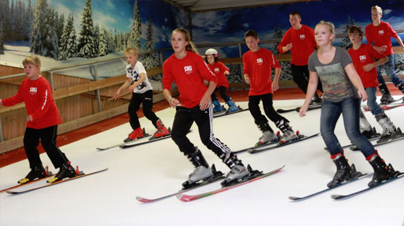 Indoor skischool Ski-inn Dronten