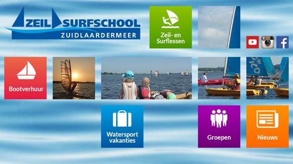 Zeil Surfschool Zuidlaardermeer