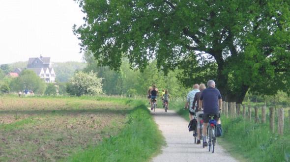 Fietsroute Rondje Maas