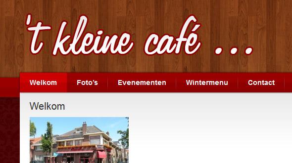 t Kleine Cafe Enkhuizen
