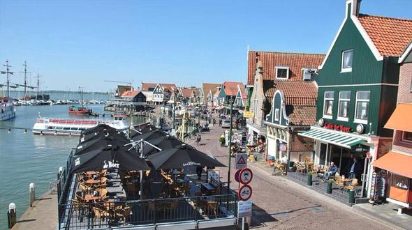 Dagje uit in Volendam