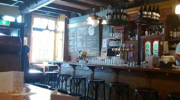 Café Restaurant de Ark in Haarlem