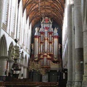 De Grote of St. Bavokerk Haarlem