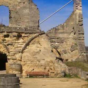 Kasteelruïne en Fluweelengrot Valkenburg
