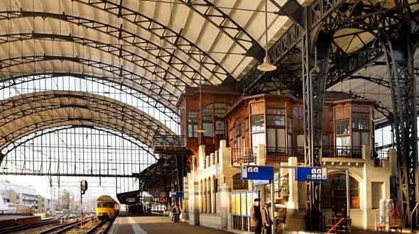 Stationsgebouw Haarlem