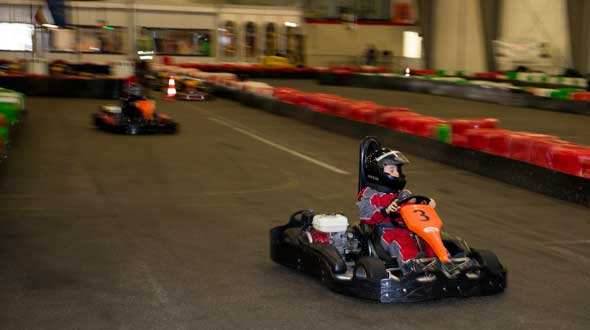 Indoor Karting Rama Goes