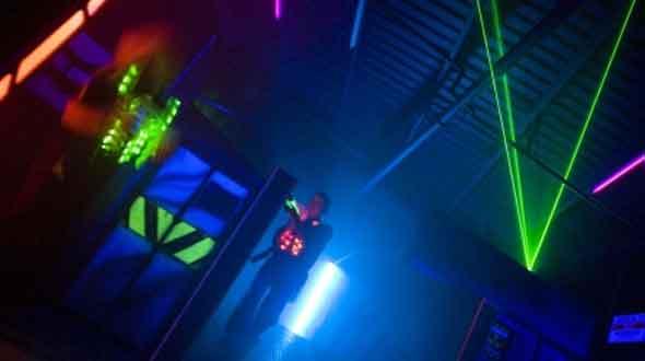 Lasergame Kartbaan Winterswijk