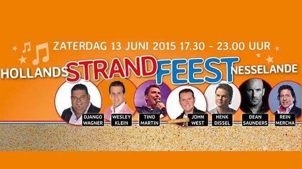 Hollands Strandfeest Nesselande 2015