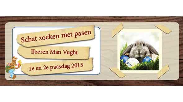 Schat zoeken bij De IJzeren Man 5-6 april 2015