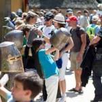 Kinderfeestje bij Archeon in Alphen aan den Rijn