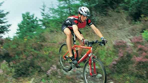 Mountainbiken bij Sport Events Terschelling