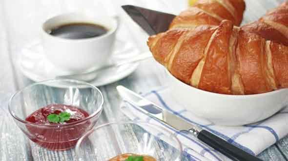 Vaderdag ontbijt op bed