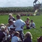 Kinderfeestje bij In de oude melkput