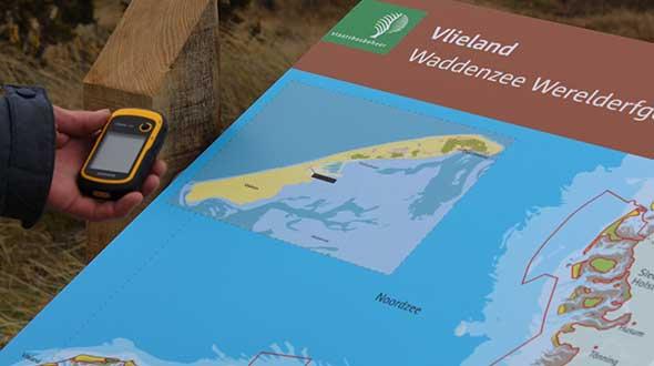 GPS Challenge bij Paal 50 Vlieland