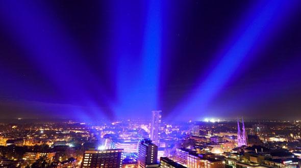 Lichtkunstfestival GLOW Eindhoven