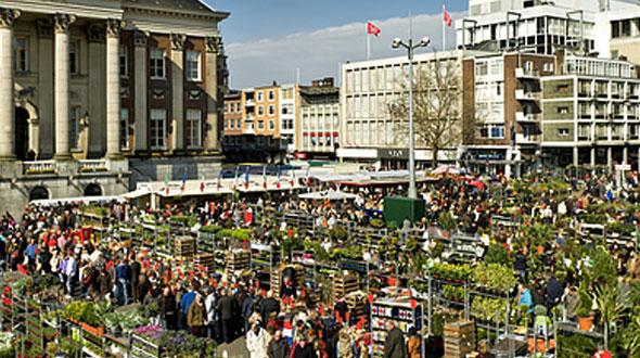 Bloemenjaarmarkt Groningen